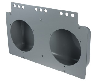 51090 – Mounting Module For 4″ Round Lights, Gray