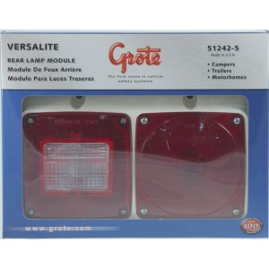 51242-5 – Versalite® Pod Light, Double, Surface Mount, Red, Retail Pack