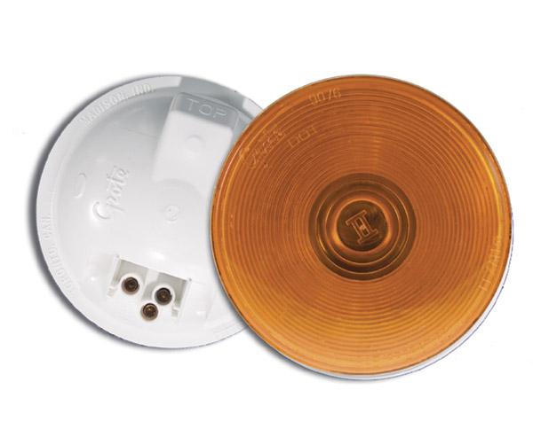 52153 – Torsion Mount® II 4″ Stop/Tail/Turn Lamp, Female-Pin 24V, Yellow