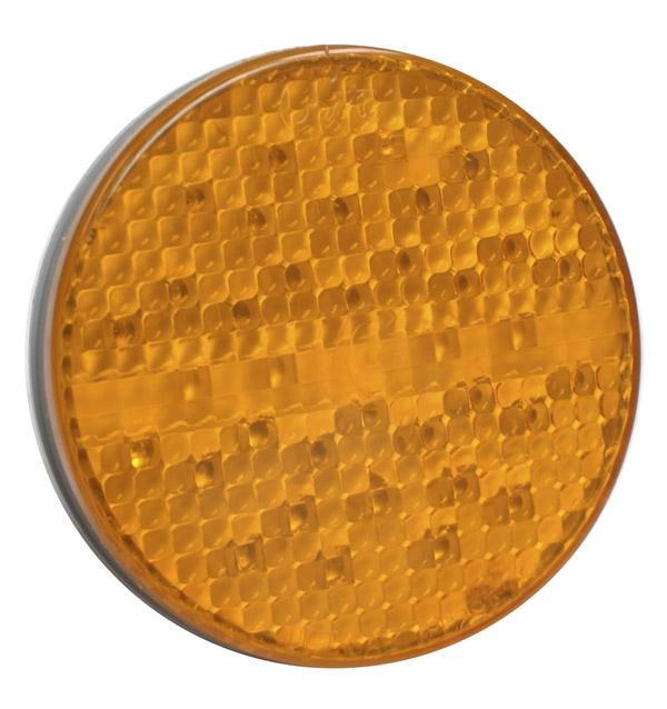 52163 – SuperNova® 4″ Full-Pattern LED Stop Tail Turn Light, Grommet Mount 24V, 3 Pin, Rear Turn, Yellow