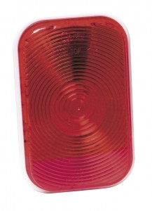 52202 – Rectangular Stop Tail Turn Light, Double Contact, Red