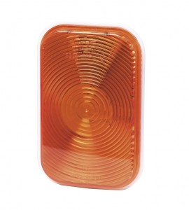 52203 – Rectangular Stop Tail Turn Light, Park Turn, Double Contact, Yellow