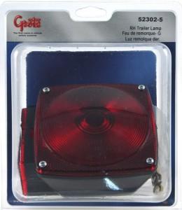 52302-5 – Trailer Lighting Kit, RH Stop Tail Turn Replacement, Red, Retail Pack