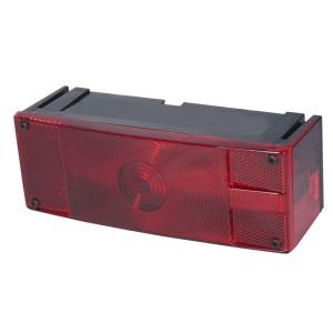 52482 – Submersible Low-Profile Trailer Lighting Kit, RH Stop Tail Turn, Red