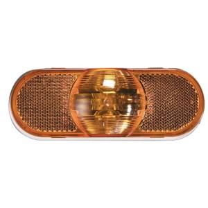 52513 – Torsion Mount® III Oval Side Turn Marker Light, Female Pin, Yellow