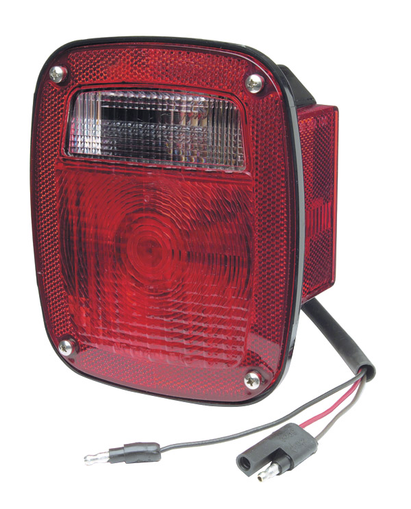 52822 – Torsion Mount® Two-Stud Stop Tail Turn Light w/ Side Marker & Molded Pigtail Termination, RH, Red