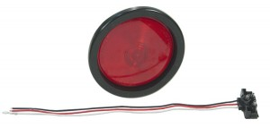 53012 – 4″ Economy Stop Tail Turn Light, Red Kit (52922 + 91740 + 67090)