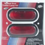 oval trailer stop tail turn submersible lighting kit retail red