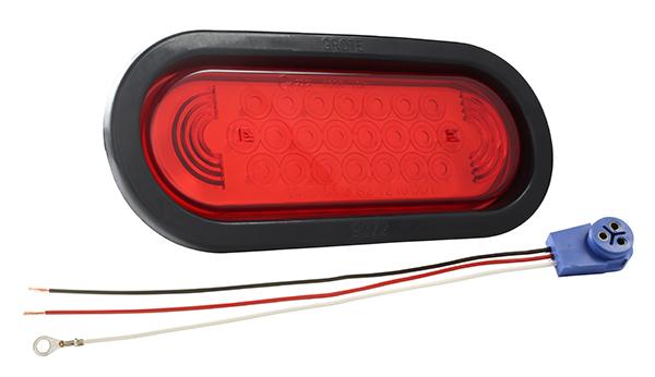 53122 – SuperNova® Oval LED Stop Tail Turn Light, Red Kit (53962 + 92420 + 67005)