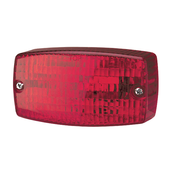 53132 – Rectangular Surface Mount Turn Light, Red