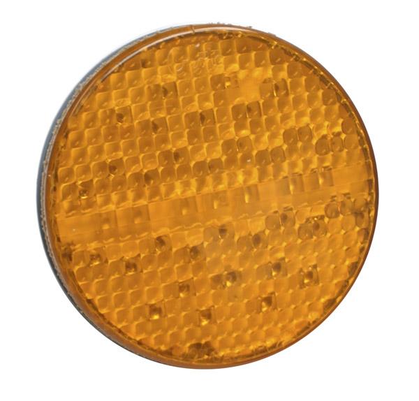 Grote Industries - 53413 – SuperNova® 4″ Full-Pattern LED Stop Tail Turn Light, Grommet Mount, 3 Pin, Rear Turn, Yellow