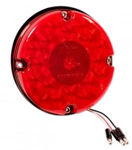 53422 – 7″ LED Stop Tail Turn Light, w/ Reflex, Red