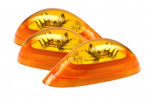 53493-3 – SuperNova® Surface Mount LED Side Turn Marker Light, Yellow, Bulk Pack