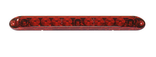 Grote Industries - 53582 – 15″ LED Center Mount Stop Tail Turn Light, Red