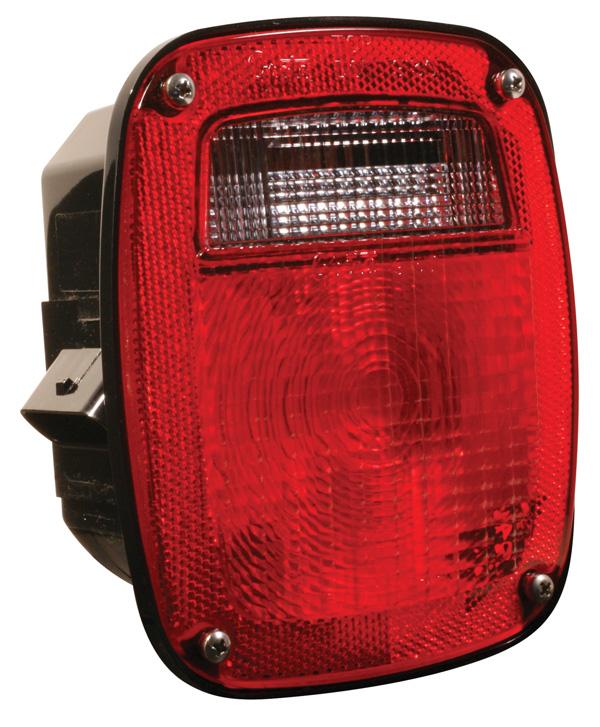 53630 – SuperNova® Three-Stud Metri-Pack® LED Stop Tail Turn Light, RH, Red