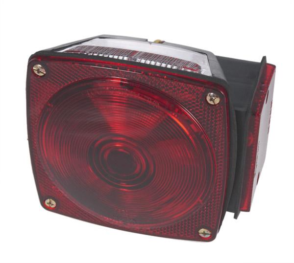 53672 – Submersible Trailer Lighting Kit, LH Stop Tail Turn Replacement, Red
