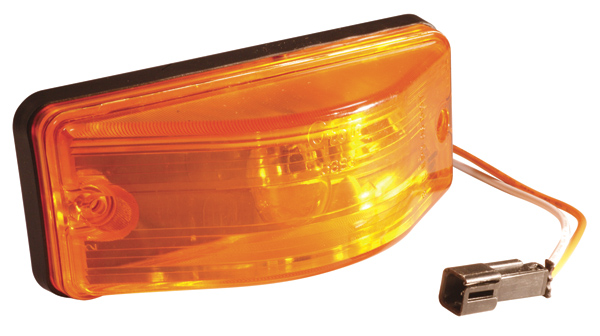 53843 – OEM Style Side Turn Marker Lamp, Bulb Replaceable, Yellow