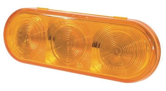 54163 – SuperNova® NexGen™ Oval LED Stop Tail Turn Light, Yellow