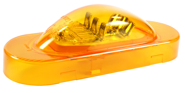 54183 – SuperNova® Oval LED Side Turn/Marker, Yellow, Male-Pin Termination