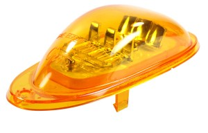 54223 – SuperNova® Oval LED Side Turn Marker Light, Surface Mount, Male Pin, Yellow