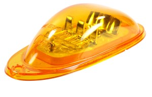 54233 – SuperNova® Oval LED Side Turn Marker Light, Surface Mount, Hard Shell, Yellow