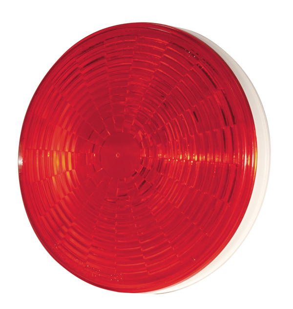 Grote Industries - 54332 – SuperNova® 4″ NexGen™ LED Stop Tail Turn Light, Grommet Mount, Male Pin, Red