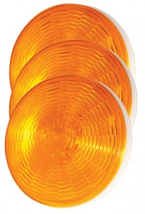 54333-3 – SuperNova® 4″ NexGen™ LED Stop Tail Turn Lights, Grommet Mount, Auxiliary, Male Pin, Yellow, Bulk Pack