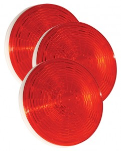 54342-3 – Grote Select™ 4″ LED Stop Tail Turn Light, Female Pin Termination, Red, Bulk Pack