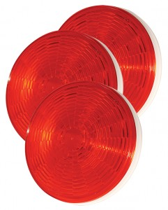 54362-3 – SuperNova® 4″ NexGen™ LED Stop Tail Turn Light, Grommet Mount, Hard Shell, Red, Bulk Pack