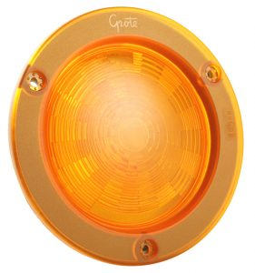 54573 – SuperNova® 4″ NexGen™ LED Stop Tail Turn Light, Integrated Flange w/ Gasket, Hard Shell, Yellow