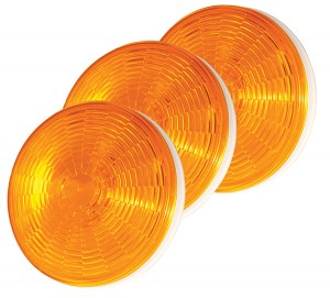 54643-3 – SuperNova® 4″ NexGen™ LED Stop Tail Turn Light, Grommet Mount, Male Pin, Yellow Turn, Bulk Pack