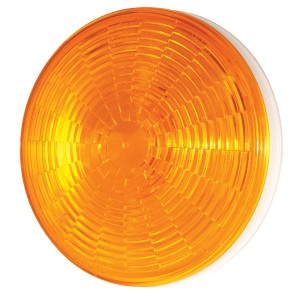 54643 – SuperNova® 4″ NexGen™ LED Stop Tail Turn Light, Grommet Mount, Male Pin, Yellow Turn