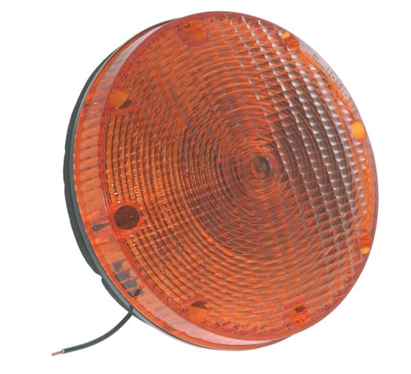 56073 – 7″ School Bus Lamps, Single Contact, Yellow