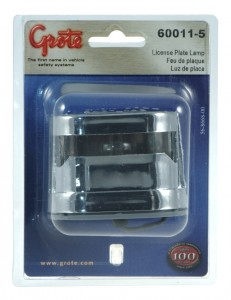 60011-5 – Resealable License Light, Triple Chrome, Retail Pack