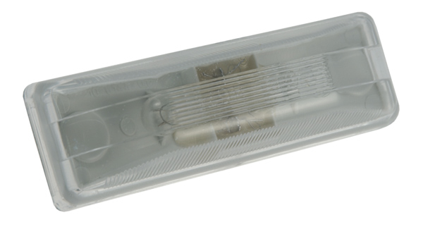 60301 – Rectangular Utility Light, Incandescent, Clear