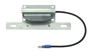 Rectangular License Light With Bracket