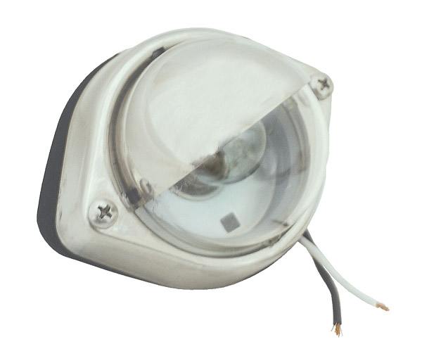 60361 – Courtesy Step Lamp, Clear