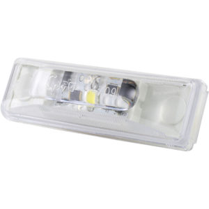60411 – Rectangular Utility Light, LED, Clear