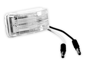 Small Rectangular LED License Lamp