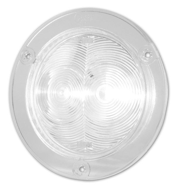 Grote Industries - 60631 – SuperNova® 4″ Flanged LED Hook Up Light, Clear