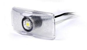 Luz LED de matrícula MicroNova®