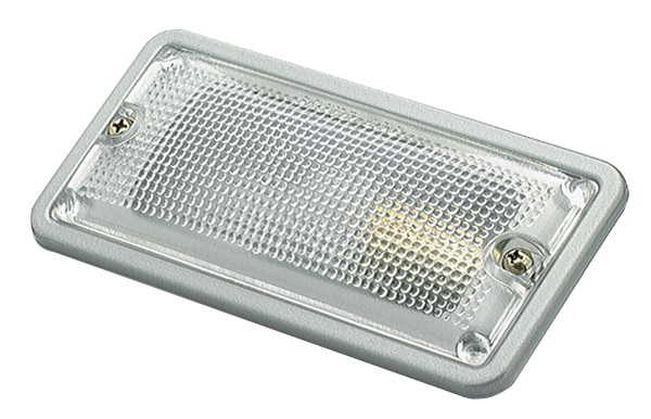 Grote Industries - 61031 – LED WhiteLight™ Recessed Small Mount Light, Steel, Hardwire Incandescent, 15CP, Clear