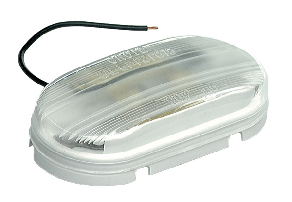 Grote Industries - 61081 – Economy Dome Light, Clear