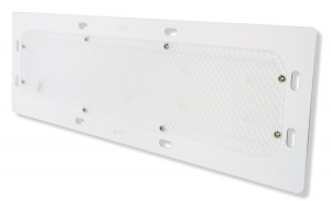 61111 – LED WhiteLight™ Recessed Mount 18″ Dome Light, High Output, 16 Diodes, 1000 Lumens, 24V, White