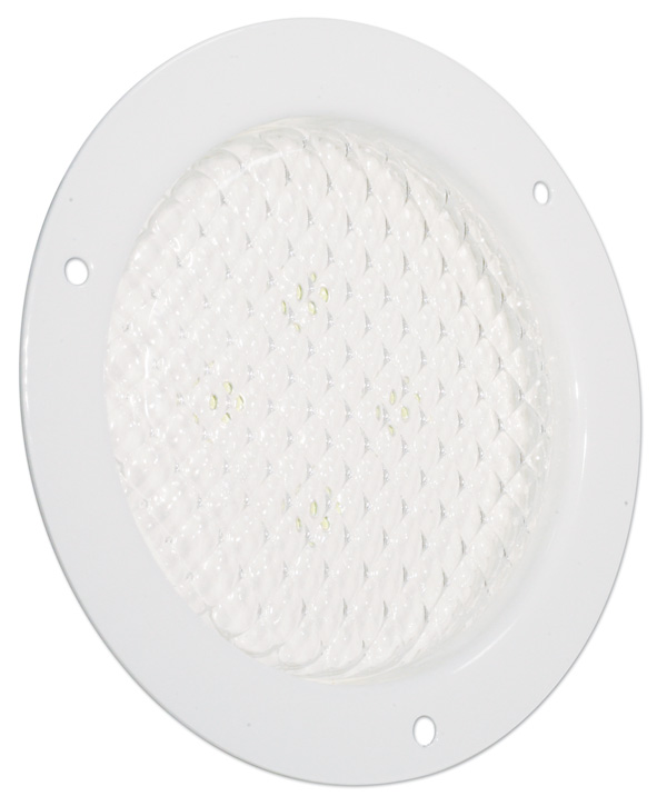Grote Industries - 61141 – 4″ Round Flange Mount LED Dome Light, White