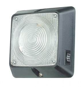 Square Dome Light With Switch