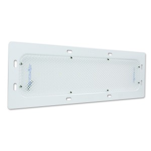 61291 – LED WhiteLight Recessed Mount 18″ Dome Light, Standard Output, 6 Diodes, 940 Lumens, White