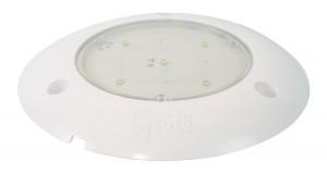 61401 – S100 LED WhiteLight™ Surface Mount Dome Light, 24V, Clear