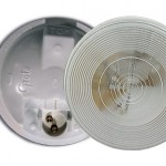torsion mount ii round dome light male pin clear