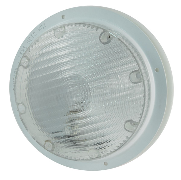 61791 – 8″ Surface Mount Dome Light, Clear